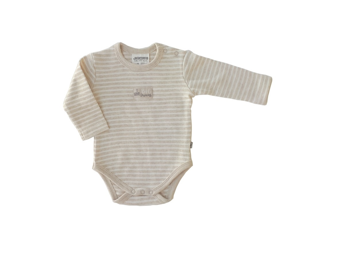 Body langarm organic cotton