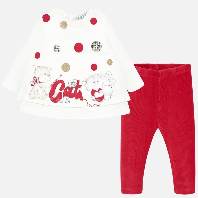 Set Leggings Katze