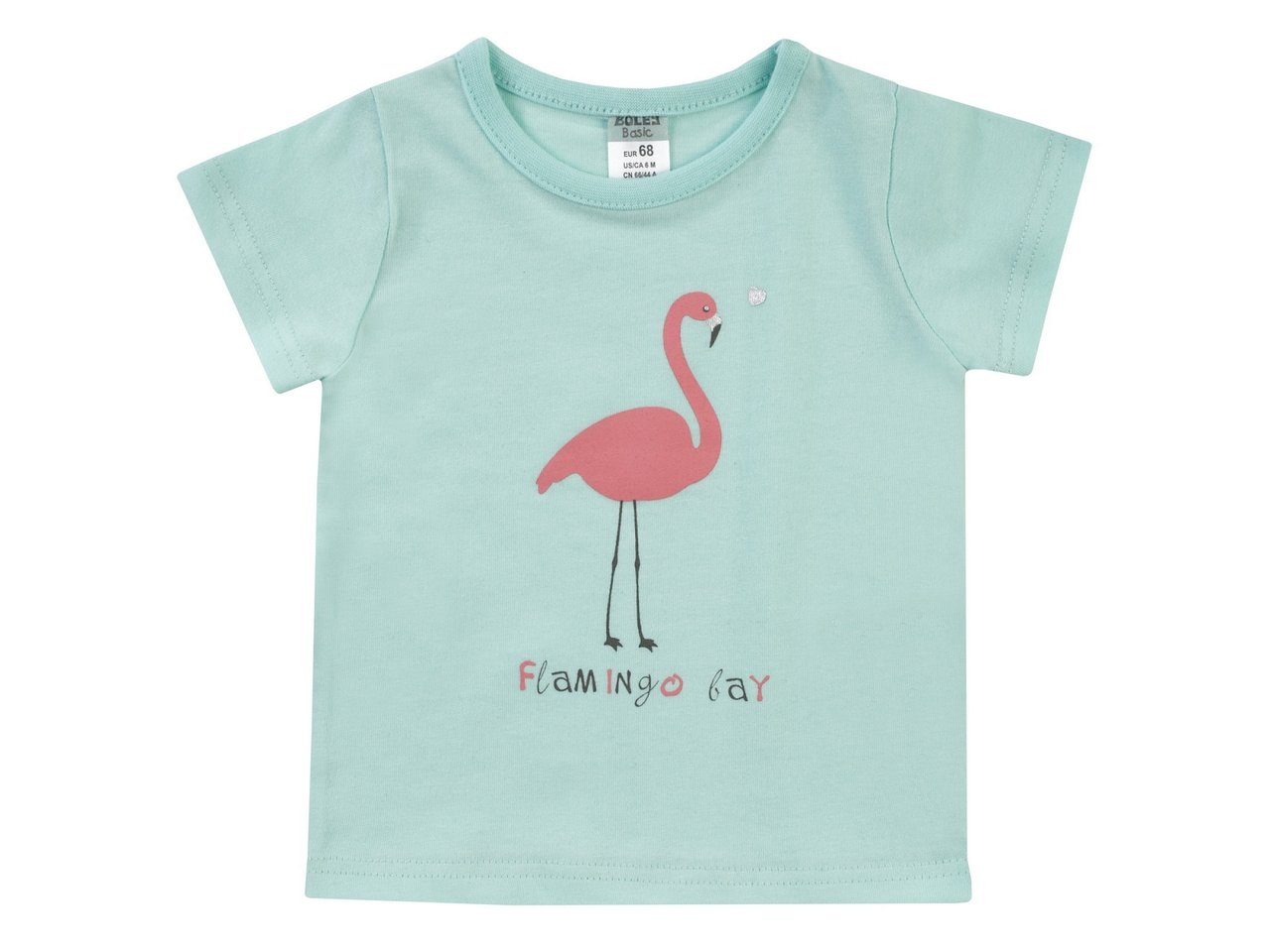 T-Shirt kurzarm Flamingo